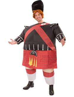 Inflatable Fat Scot Adult Costume