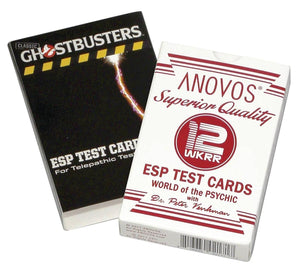 Ghostbusters Superior Quality ESP Test Card Game