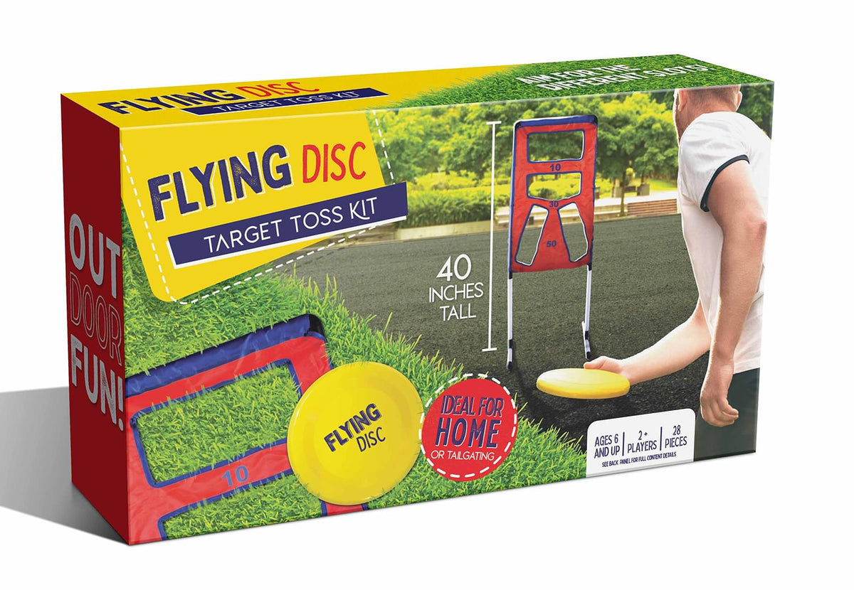 Flying Disc Target Toss Outdoor Family Game
