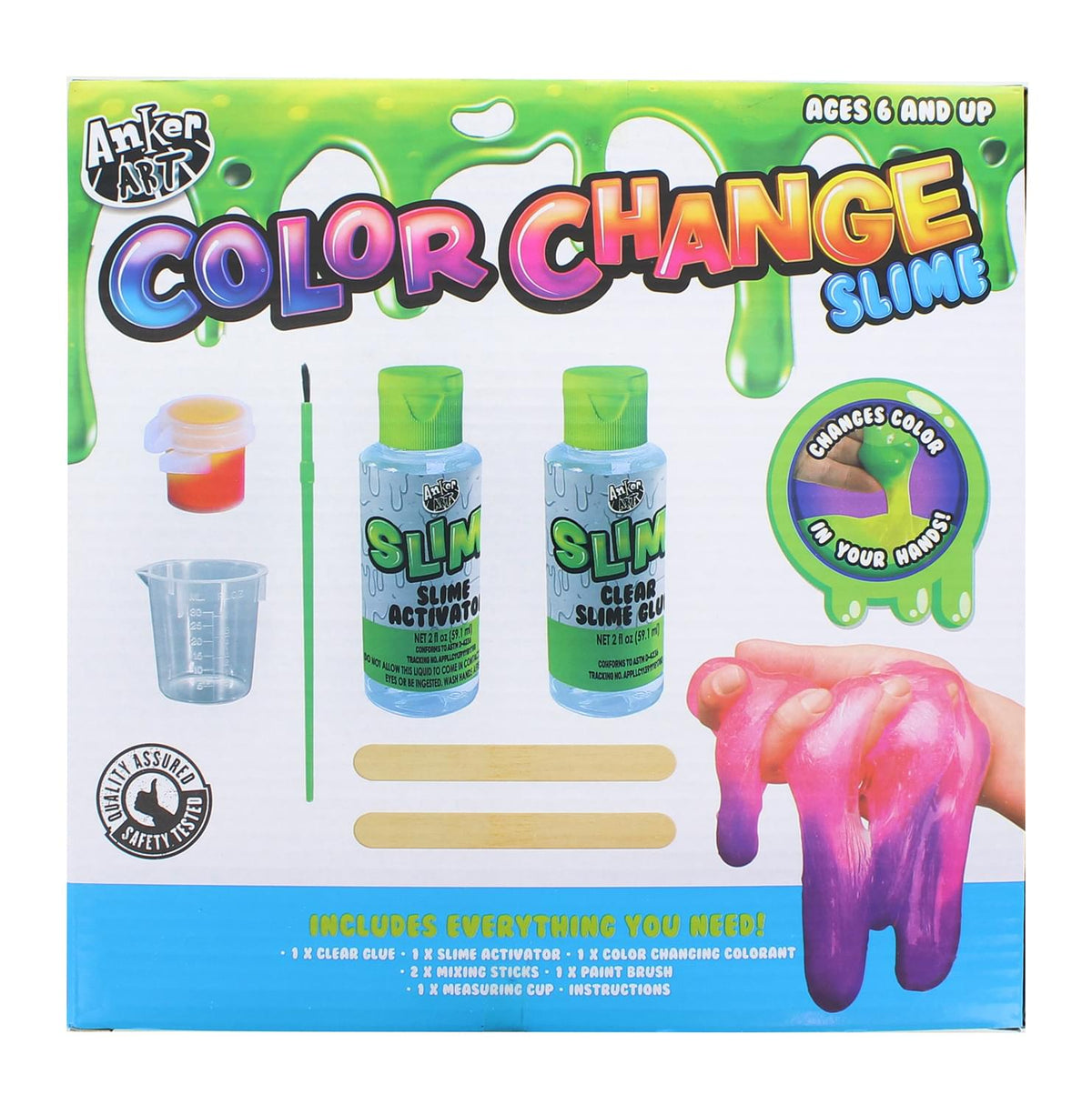 Deluxe Slime Kit | Color Change