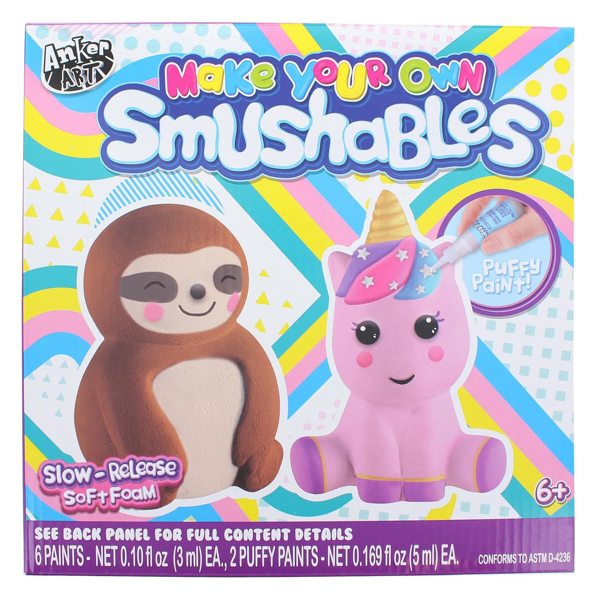 Make Your Own Foam Smushables Activity Kit | Sloth & Unicorn