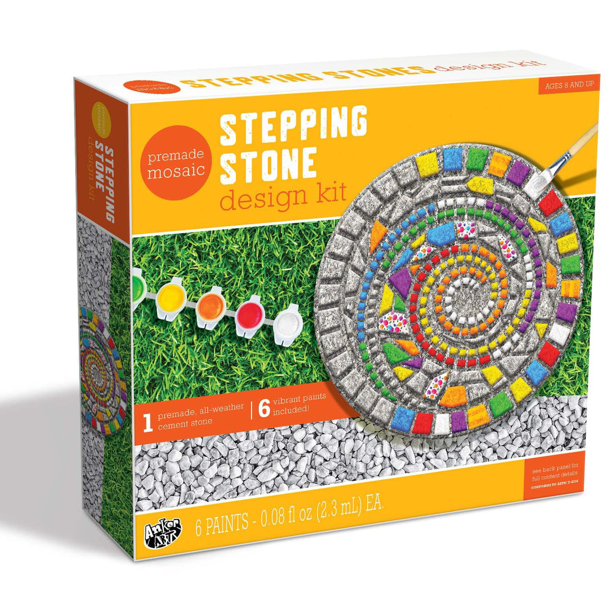 Paint Your Own Stepping Stones Craft Kit