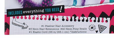 Acade-Me Feather and Hair Accessory Kit