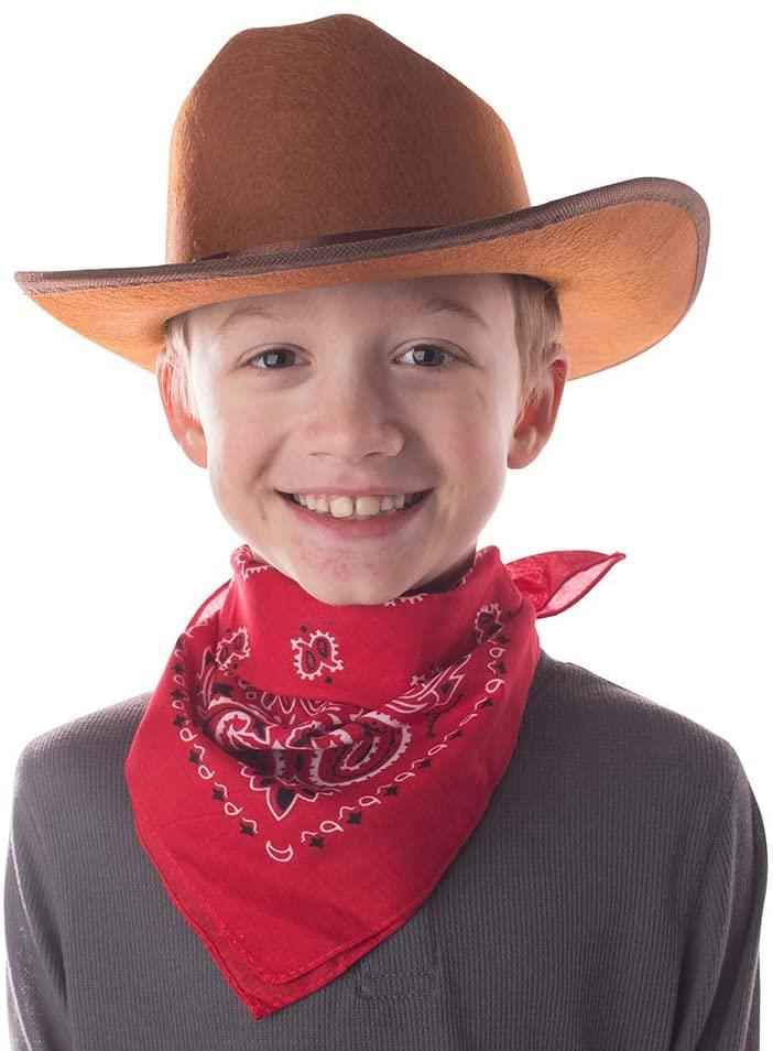 Aeromax Junior Cowboy Costume Hat with Bandanna