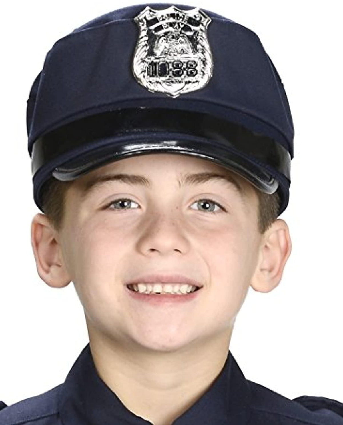 Police Cap Adjustable Child Costume Hat | Youth Size