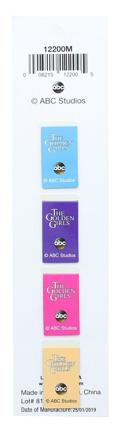 The Golden Girls Magnetic Page-Top Bookmarks - Set of 4