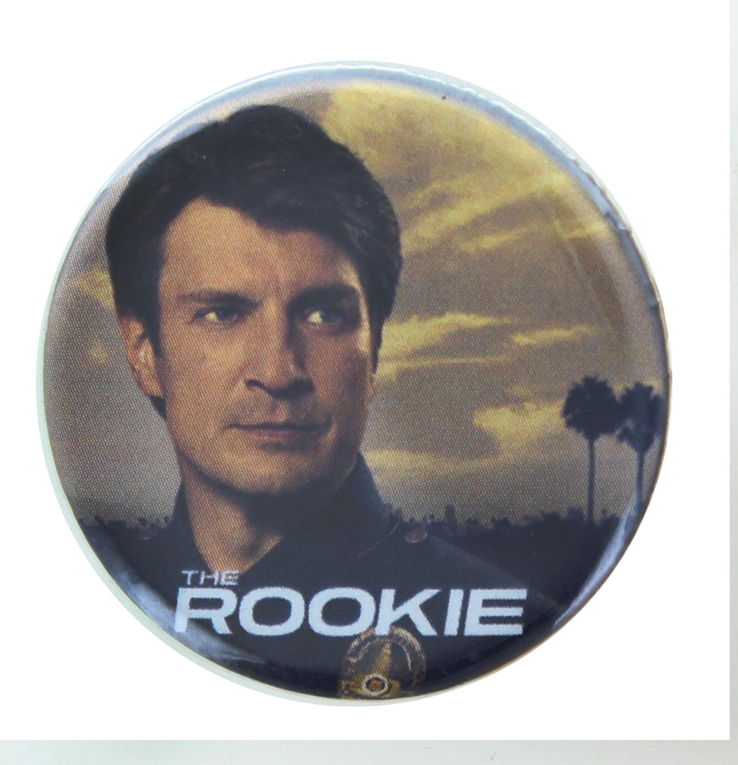 The Rookie Poster 1.25 Inch Collectible Button Pin