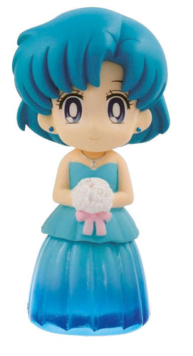 Banpresto Sailor Moon Sailor Mercury Sparkle Dress Collection Figure
