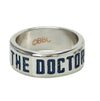 "Doctor Who ""The Doctor"" Men's Stainless Steel Ring"