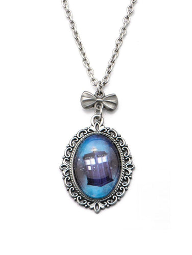 Doctor Who Tardis Cameo Necklace