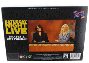 "Saturday Night Live Weekend Update Set of 2 Amy/Tina 3 1/2"" Figure"