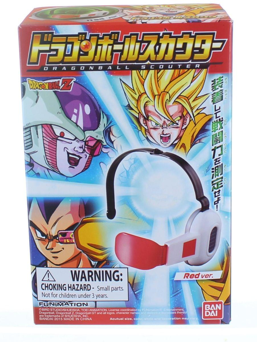 DragonBall Z Scouter Headset Soundless Version: Red Lens
