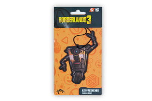 Borderlands Claptrap Hanging Air Freshener - Vanilla Scented