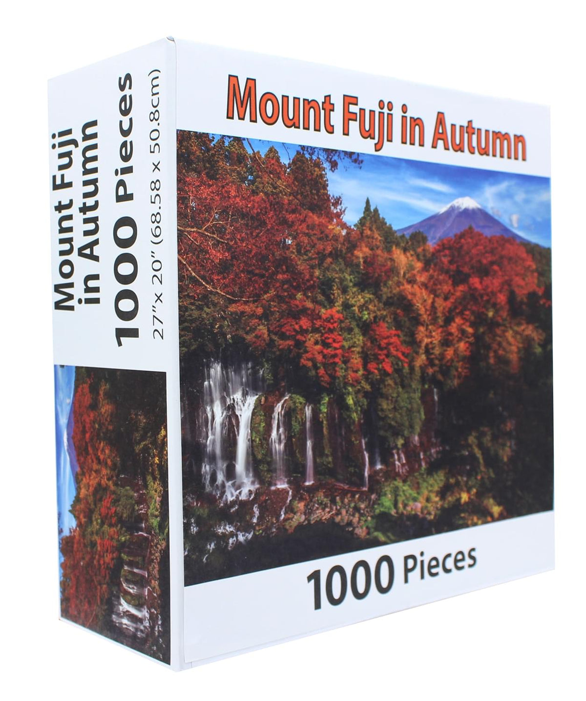 PuzzleWorks 1000 Piece Jigsaw Puzzle | Mount Fuji In Autumn