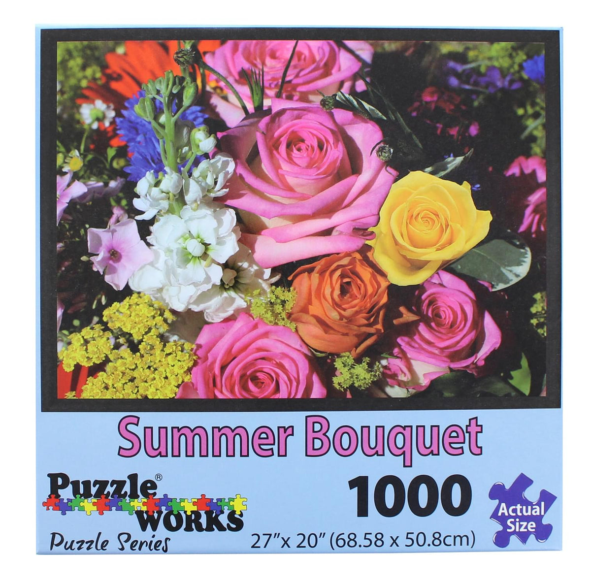 PuzzleWorks 1000 Piece Jigsaw Puzzle | Summer Bouquet