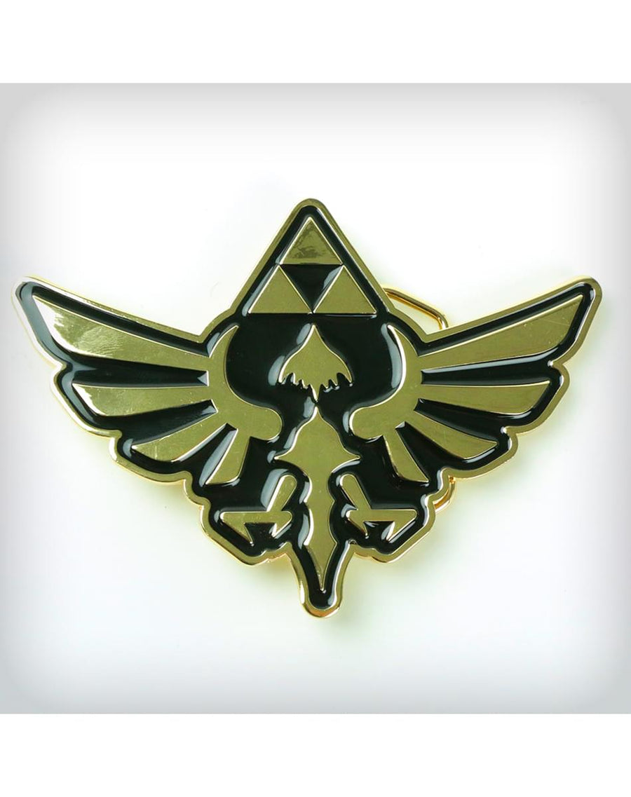 Legend of Zelda Gold Crest Belt Buckle