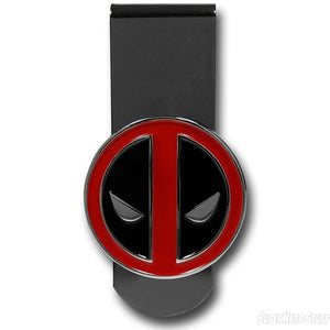 Marvel Deadpool Metal Badge Money Clip