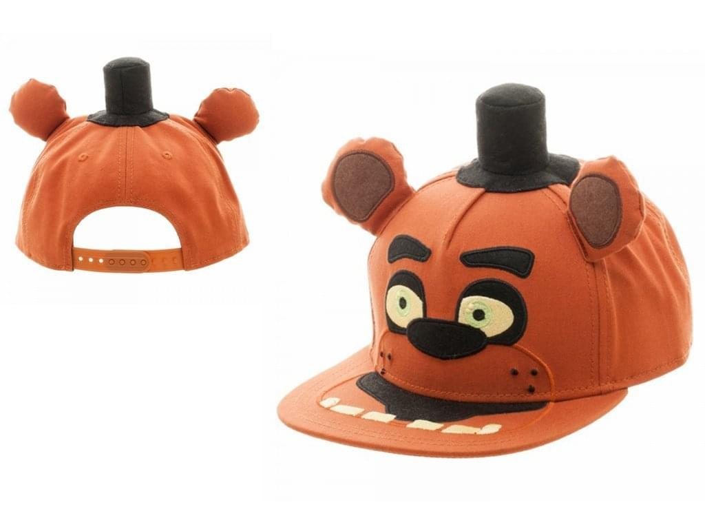 7bcd59e2a7c Five Nights At Freddy s Big Face Youth Snapback Hat - Toynk Toys