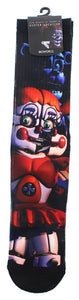Five Nights at Freddy's Circus Baby Crew Socks