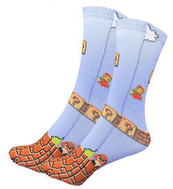 Super Mario Bros Nintendo Tube Socks