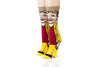 The Golden Girls Funny All-Over Graphic Adult Crew Socks | Blanche