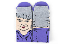 Load image into Gallery viewer, The Golden Girls Dorothy Funny Graphic Socks | Single Pair Of Adult Crew Socks