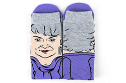 The Golden Girls Funny All-Over Graphic Adult Crew Socks | Dorothy