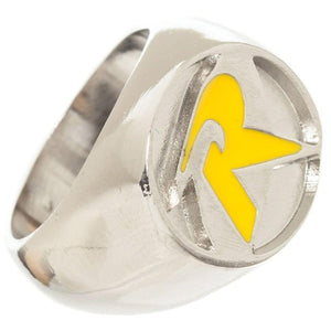 DC Comics Robin Women's Brushed Nickel Ring