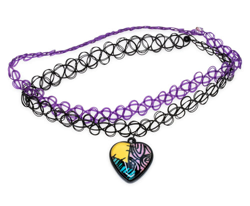 Nightmare Before Christmas Choker Necklace: Sally