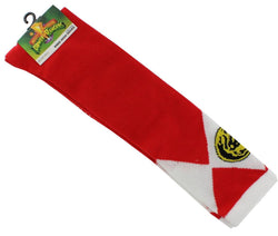 Power Rangers Juniors Knee High Socks Red Ranger