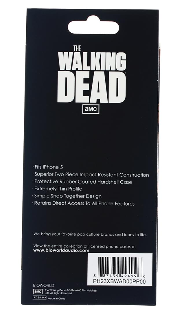 The Walking Dead iPhone 5/5s Hardshell Case