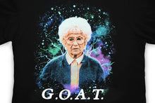 Load image into Gallery viewer, The Golden Girls Exclusive Sophia G.O.A.T Graphic Black T-Shirt