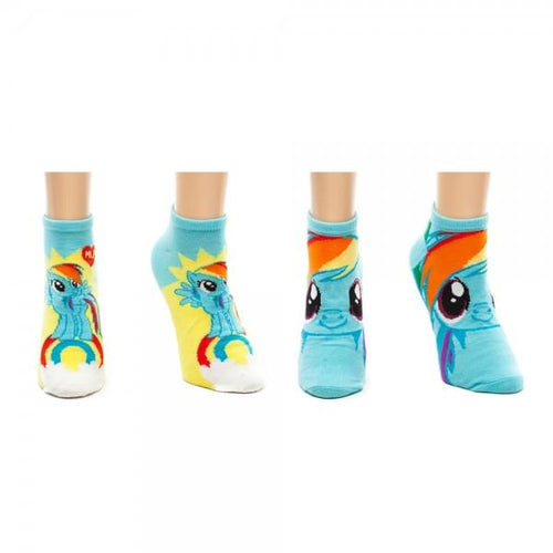 My Little Pony Dash Ankle Socks 2 Pack