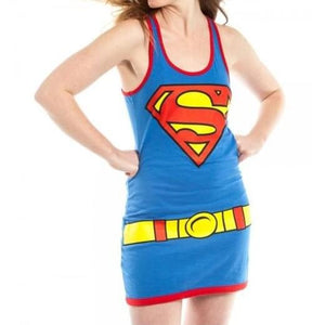 Supergirl Character Juniors Tank Dress