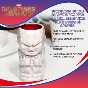 Guardians of the Galaxy 17oz Geeki Tikis: Drax