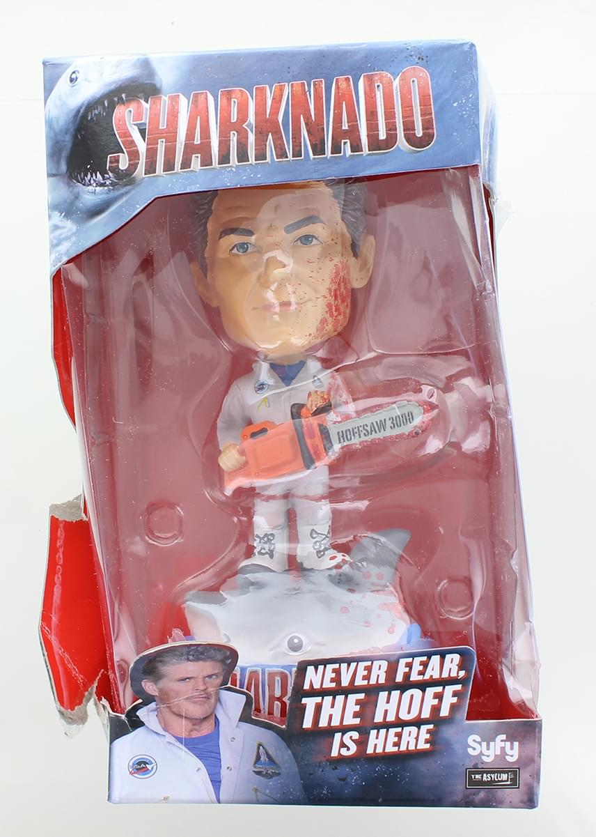 Sharknado 7 Inch Bobblehead Sharknado vs. The Hoff | Damaged Box