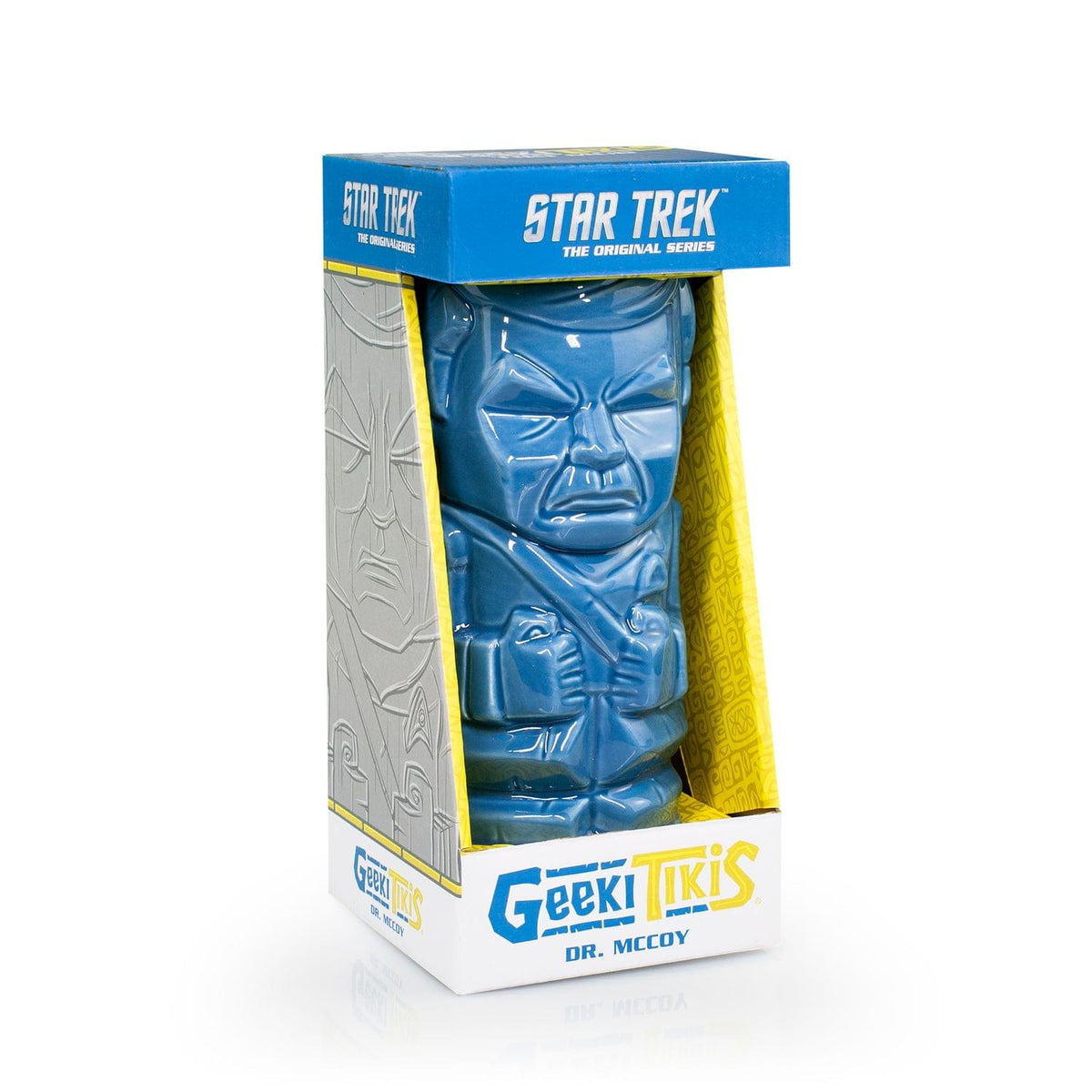 Geeki Tikis Star Trek Dr. McCoy Mug | Crafted Ceramic | Holds 20 Ounces