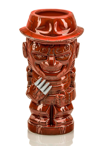 Geeki Tikis Nightmare On Elm Street Freddy Krueger | Tiki Style Mug | 21 Ounces
