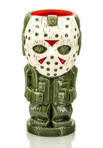Geeki Tikis Friday The 13th Jason Voorhees | Ceramic Tiki Mug | Holds 26 Ounces