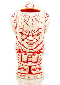 Geeki Tikis IT Pennywise Mug | Ceramic Tiki Style Cup | Holds 27 Ounces