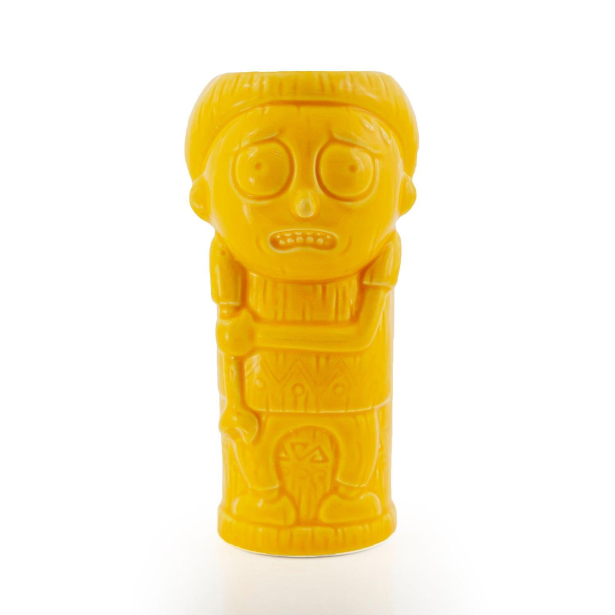 Geeki Tikis Rick & Morty Morty Mug | Ceramic Tiki Style Cup | Holds 13 Ounces