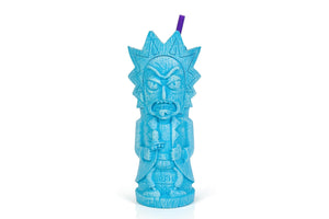 Rick and Morty Rick 25oz Geeki Tiki Plastic Tumbler