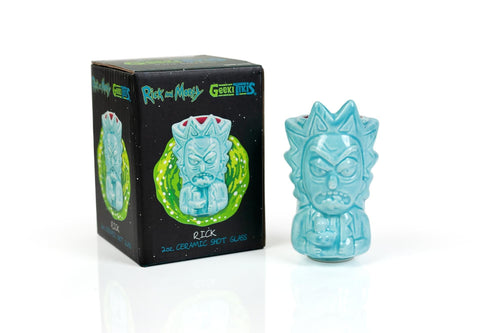 Rick and Morty Rick 2oz Geeki Tiki Mini Muglet