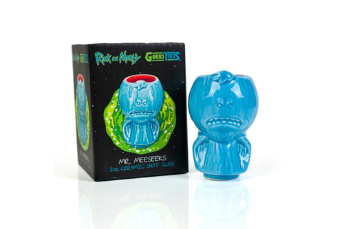 Rick and Morty Mr. Meeseeks 2oz Geeki Tiki Mini Muglet