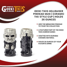 Load image into Gallery viewer, Geeki Tikis Hellraiser Pinhead Mug | Ceramic Tiki Style Cup | Holds 26 Ounces