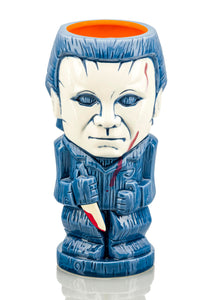 Geeki Tikis Halloween Michael Myers | Ceramic Tiki Style Mug | Holds 22 Ounces