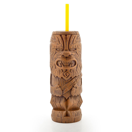 Geeki Tikis Star Wars Chewbacca Tumbler | Tiki Style Cup | Holds 21 Ounces