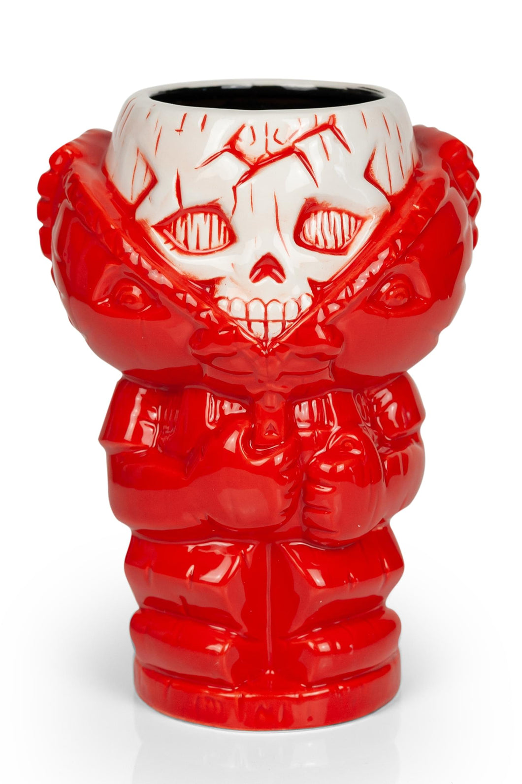 Geeki Tikis Garbage Pail Kids GPK Bony Tony Mug Ceramic Tiki Style Cup 22 Ounces | Set Includes Trading Card
