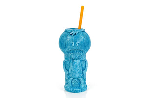 Rick and Morty Mr. Meeseeks 23oz Geeki Tiki Plastic Tumbler