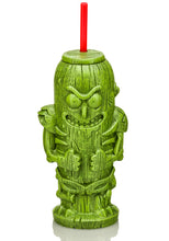 Load image into Gallery viewer, Rick and Morty Geeki Tiki Plastic Tumblers | Set of 4